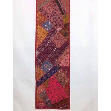 Tapis Mural Rajasthan Inde TM-16/B Ton Rouge