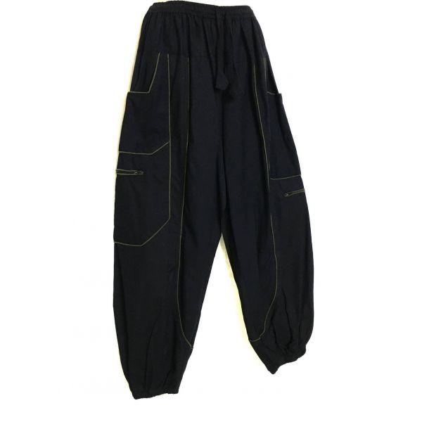 Pantalon Aladin Quatre Poches EV13-19 Noir et Kaki