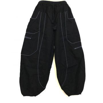 Pantalon Aladin Quatre Poches EV13-19 Noir et Gris