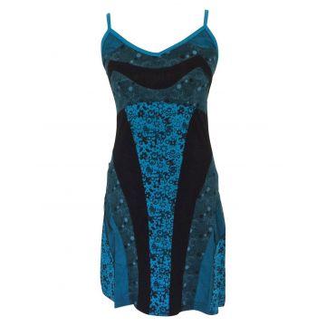 Robe Courte Wani réf: EV15-04 Bleu