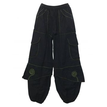 Pantalon Homme Ballia Liseré Kaki