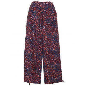 Pantalon Femme Naricha imprimé Amla Corail