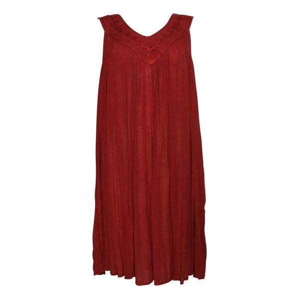 Robe Grande Taille unies Dix Couleurs réf JK-112