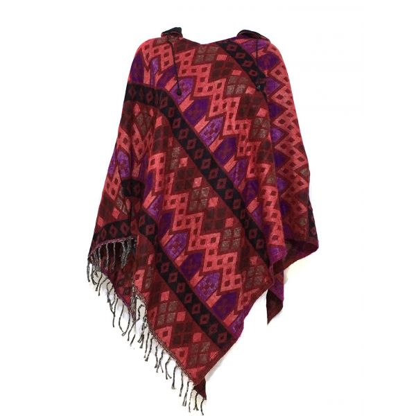 Poncho Cardigan Femme Taille Ample