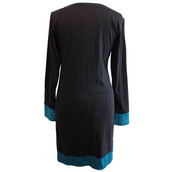 Tunique Sakasi Jersey de Coton Coupe Droite