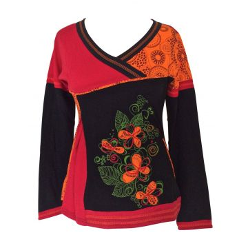 T-Shirt Bhanu Broderie Florale