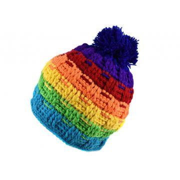 Bonnet Femme Monala Tricot Multicolore