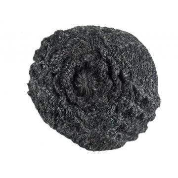 Bonnet d'hiver Tanji Femme Laine tricotée Floral