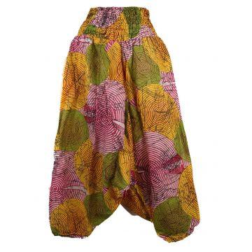 Sarouel Femme Coton Imprimé 2Sold15