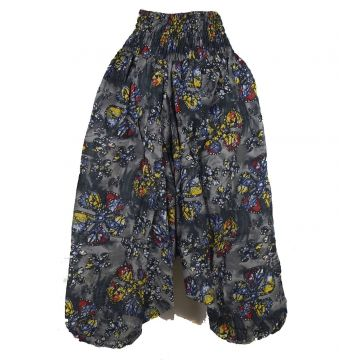 Sarouel Smocks Femme Coton Imprimé 2Sold25