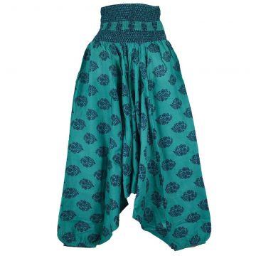 Sarouel Smocks Femme Coton Imprimé réf: 2Sold42