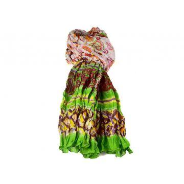 Chèche Femme Pure Coton  Multicolore