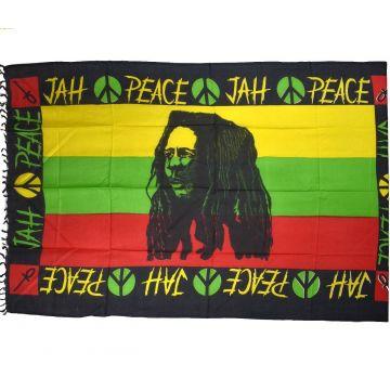 Paréos Bob Marley Peace réf: TE-18/02