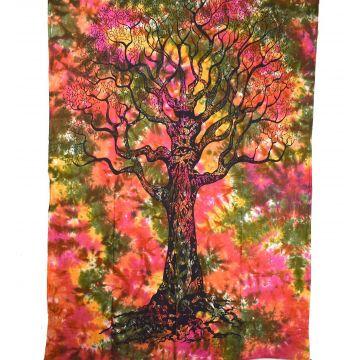 Tenture Tree  Tie Dye 210 cm x 140 cm  réf: BC-18/24