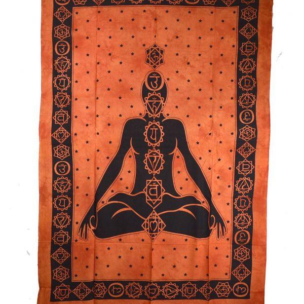 Tenture Yogi Chakra Tie Dye réf: BC-18/31