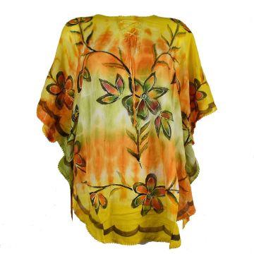 Tunique Kaftan Floral Peint JK-1987/B