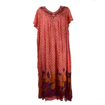 Robe Longue Julapali JK-1908 Tie Dye Orange