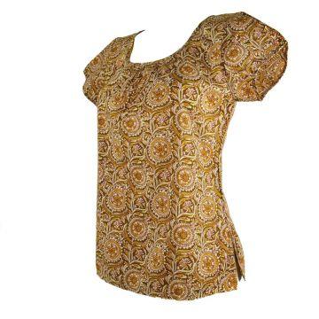Haut Femme Mallapur Coton Imprimé NAT-01/A