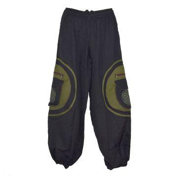 Pantalon Mudhol Six Poches SD-2053/A Noir et Kaki