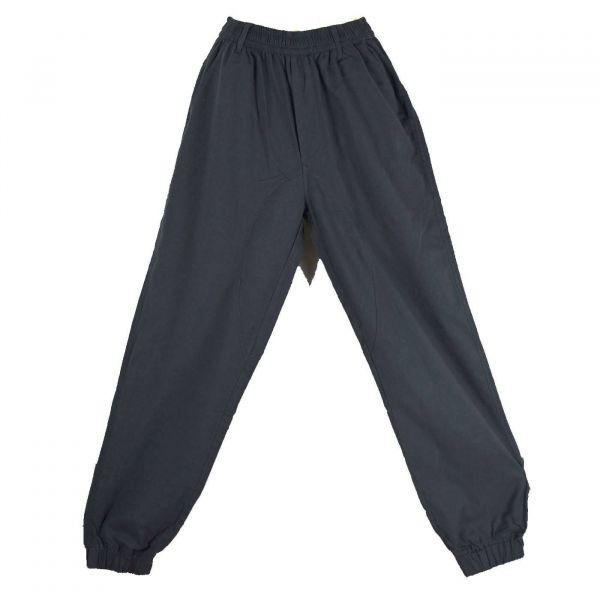 Pantalon Homme Katni Coton Artisanal Été Gris