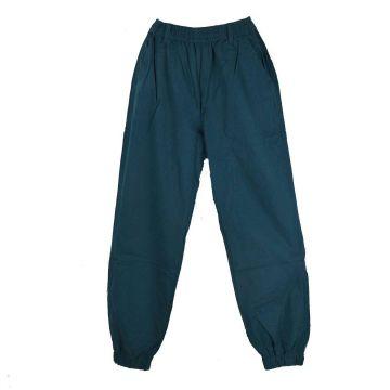 Pantalon Homme Katni Coton Artisanal Été Pétrole