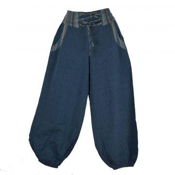 Pantalon EV18-10 pétrole