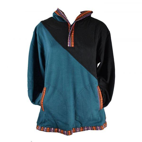 Sweater E18-13 pétrole