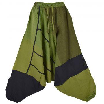 Sarouel Homme Coton Artisanal Kédhary E18-06 Vert