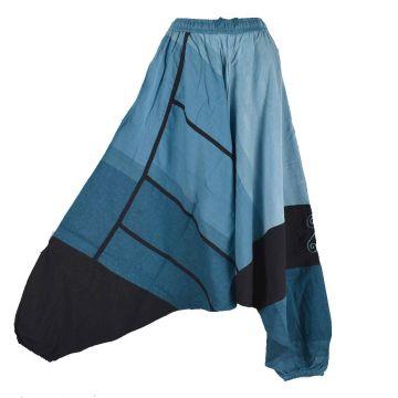 Sarouel Mixte Coton Artisanal Kédhary E18-06 Bleu Clair