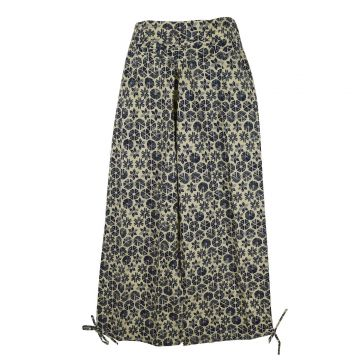 Pantalon Femme Naricha imprimé Amla Gris Deux Tons