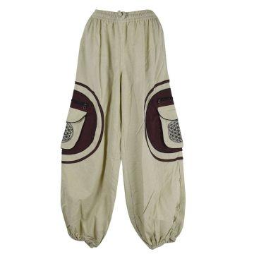 Pantalon Homme Mudhol Six Poches Ton Naturel