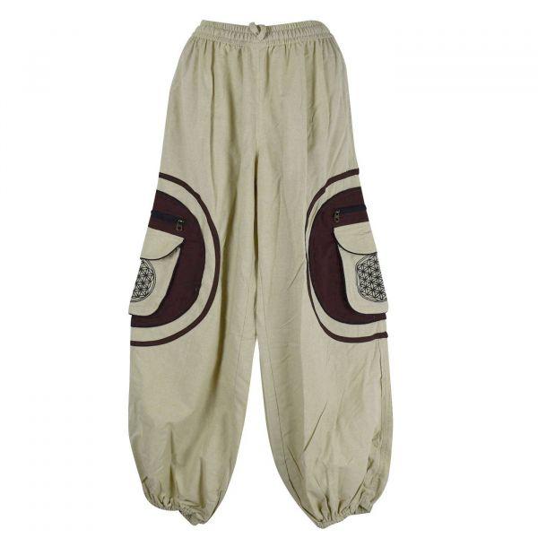 Pantalon SD.2053/A Écru/Choco