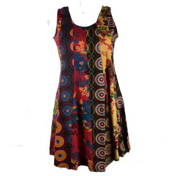 Robe Tunique Patchwork SD-93 Taille 36/38