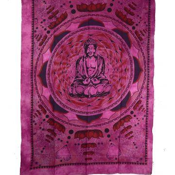 Tenture Bouddha Lotus BC-18/44 parme