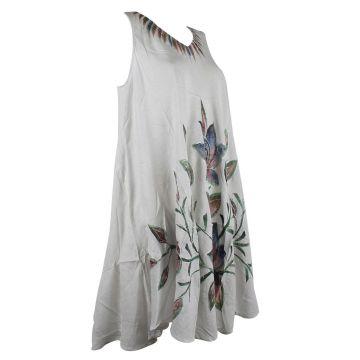Robe Grande Taille Dévapur Tie Dye JK-433