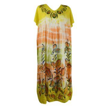 Robe Longue Ameda Floral JK-1994/C Peint