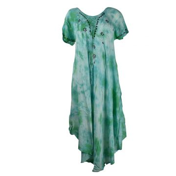 Robe Longue Saoli Batik JK-1303 Voile de Viscose