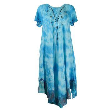 Robe Longue batik Saoli Grande Taille JK-1303