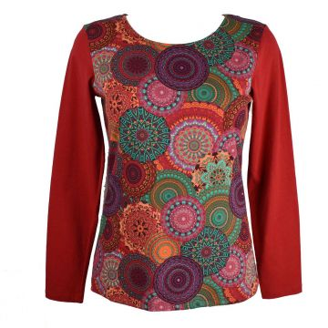 Tee-Shirt Shiba Femme Nouvelle Collection TS 15813 rouge