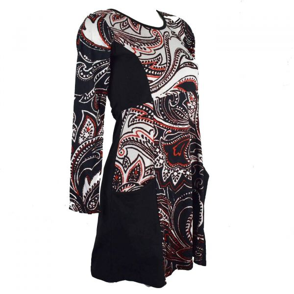 Robe Courte Imprimé Sulia Collection Ethnique