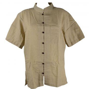 Chemisette Homme Khudi Coton Artisanal SD-01 H/S