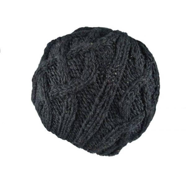 Bonnet Homme Nahyri  Tricot Laine Noir