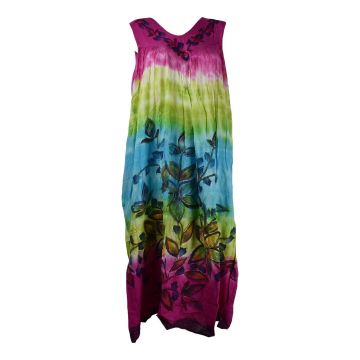 Robe Grande Taille Jalgaon Tie Dye Version B