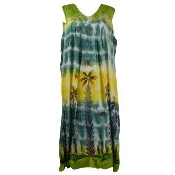 Robe Tangi Voile de Viscose Batik JK-1992/D