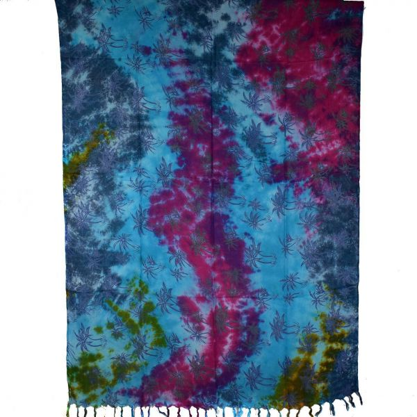 Paréos Tie Dye Palmiers réf: PA-19/79