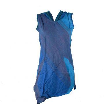 Tunique Balod Asymétrique Coton Artisanal du Népal