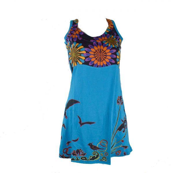 robe courte javari motifs ethniques