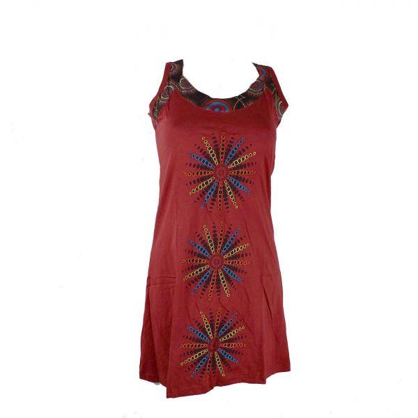 robe courte makodi maille coton
