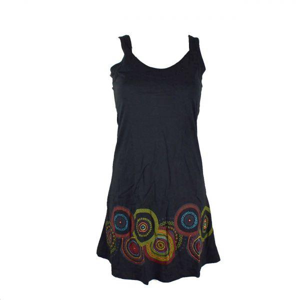 robe courte asara mandalas print
