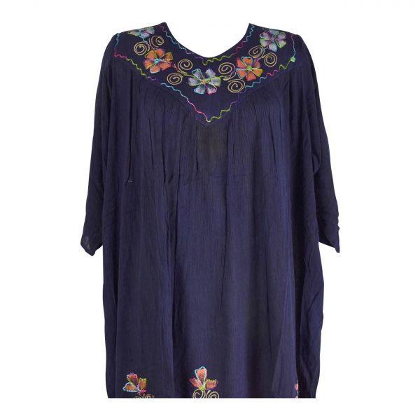 Robe Ample Dadwa Manches Mi longues